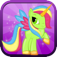 Little Magic Unicorn Dash: My Pretty Pony Princess vs Shark Tornado Attack Game - FREE for all!